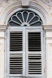 Antika fönster Arkivbilder