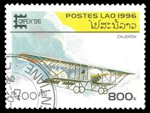 Antika flygplan Royaltyfri Bild