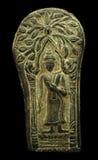 Antika forntida amuletter för Buddha Royaltyfria Bilder