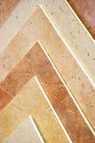 antika golvtegelplattor Arkivfoton