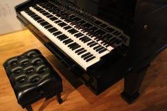 Antika pianotangenter 8000 Royaltyfri Foto