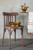 Antika redskap för tvätt Royaltyfri Foto