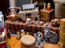 antika toys Fotografering för Bildbyråer