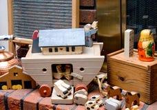 antika toys Royaltyfri Bild