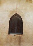 Antika träfönster Royaltyfria Bilder