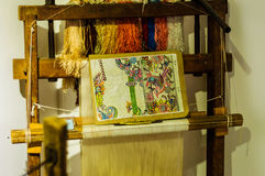 Antika turkstycken i museum Royaltyfria Foton