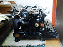 Antika Typewiter Fotografering för Bildbyråer