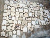 antika väggmålningar Fotografering för Bildbyråer