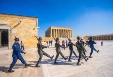 Antikabir, ο τάφος Ataturk, Άγκυρα, Τουρκία Στοκ φωτογραφία με δικαίωμα ελεύθερης χρήσης