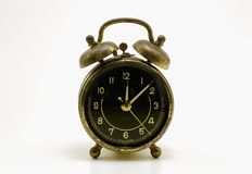 Antike Alarmuhr Lizenzfreies Stockbild