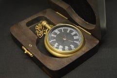 Antike alte Armbanduhr Stockbild