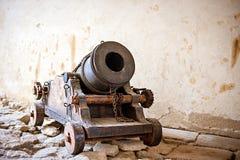Antike alte Kanone Lizenzfreie Stockfotos