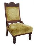 Antike aufgefüllter Stuhl Stockfotos