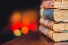Antike Bücher Lizenzfreies Stockbild