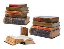 Antike Bücher getrennt Stockbilder