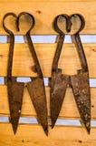 Antike Bauernhofwerkzeuge, Island Stockfotografie