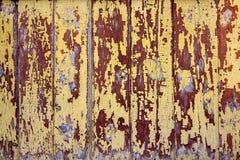 Antike beunruhigte hölzerne Planken und Bretter stockfoto
