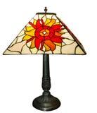Antike Blei-Leuchte-Lampe Stockbilder