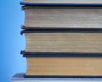 Antike Buch-Weinlese-literarischer Sammlungs-Unterricht Lizenzfreie Stockfotografie