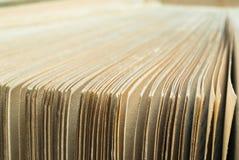 Antike Buchseiten Lizenzfreie Stockbilder
