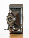 Antike Falten-Kamera kein 2C Lizenzfreie Stockfotos