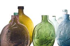 Antike Flaschen Stockfoto