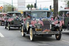 Antike Ford-Fahrzeuge Lizenzfreies Stockfoto