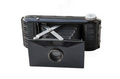 Antike Fotokamera lokalisiert Lizenzfreie Stockfotografie