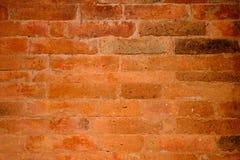 Antike gebackener Lehm-Ziegelstein Stockfotografie