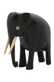 Antike geschnitzter hölzerner Elefant Stockbilder