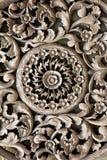 Antike geschnitztes hölzernes Stockbilder