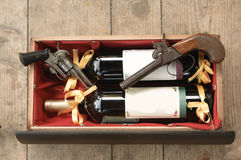 Antike Gewehr Stockfoto