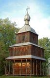 Antike hölzerne Kapelle Lizenzfreies Stockbild
