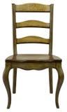 Antike-handgemalter Stuhl Lizenzfreies Stockbild