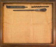 Antike Hilfsmittel lizenzfreies stockfoto