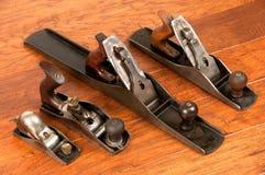 Antike Hilfsmittelanordnung, vier Flugzeuge Lizenzfreie Stockbilder