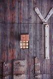 Antike Holztürbeschaffenheit Lizenzfreie Stockfotos
