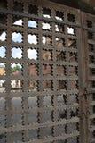 Antike Holztüren stockfoto