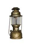 Antike Hurrikan-Lampe stockfotos