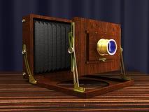 Antike Kamera Lizenzfreie Abbildung