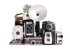 Antike Kameras Lizenzfreies Stockbild
