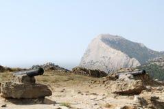 Antike Kanone Stockfotografie