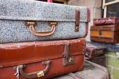 Antike Koffer Stockfotos