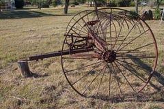 Antike landwirtschaftliche Maschinen Stockfotos