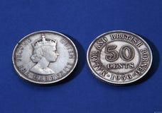 Antike Münzen Stockbild