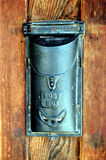 Antike Mailbox stockfoto