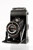 Antike mittlere Format-Kamera Lizenzfreie Stockfotos