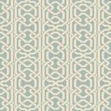 Antike nahtlose Hintergrund Polygon-Geometrie-Kreuz-Feld-Kette L lizenzfreie abbildung