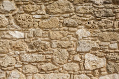 Antike natürliche stonewall Lizenzfreie Stockfotos