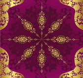 Antike Osmanetapeten-Abbildungauslegung stock abbildung